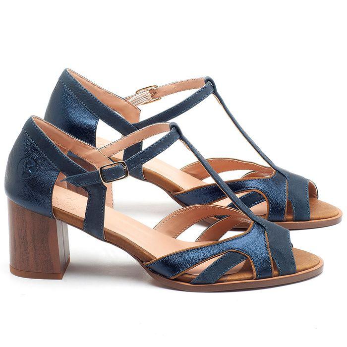Laranja_Lima_Shoes_Sapatos_Femininos_Sandalia_Laranja_Lima_Shoes_Classic_Salto_de_6_cm_em_Couro_Azul_-_Codigo_-_3698_1