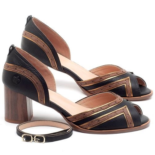 Laranja_Lima_Shoes_Sapatos_Femininos_Sandalia_Laranja_Lima_Shoes_Classic_Salto_de_6_cm_em_Couro_Bicolor_-_Codigo_-_3699_1