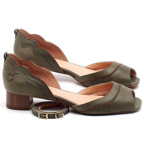 Laranja_Lima_Shoes_Sapatos_Femininos_Scarpin_Salto_Baixo_de_3_cm_em_Couro_Verde_-_Codigo_-_3701_1