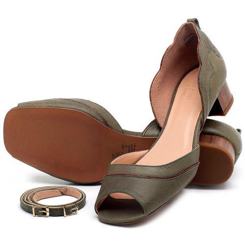 Laranja_Lima_Shoes_Sapatos_Femininos_Scarpin_Salto_Baixo_de_3_cm_em_Couro_Verde_-_Codigo_-_3701_2