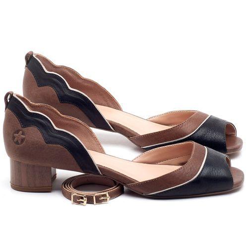 Laranja_Lima_Shoes_Sapatos_Femininos_Scarpin_Salto_Baixo_de_3_cm_em_Couro_Bicolor_-_Codigo_-_3701_1