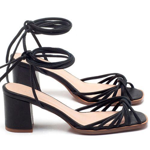 Laranja_Lima_Shoes_Sapatos_Femininos_Sandalia_Laranja_Lima_Shoes_Classic_Salto_de_6_cm_em_Couro_Preto_-_Codigo_-_3702_1