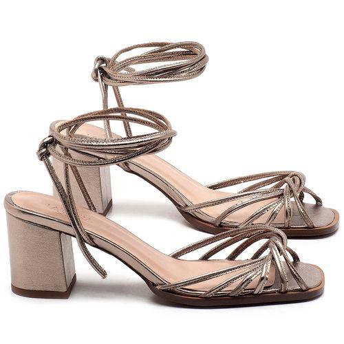 Laranja_Lima_Shoes_Sapatos_Femininos_Sandalia_Laranja_Lima_Shoes_Classic_Salto_de_6_cm_em_Couro_Metalizado_-_Codigo_-_3702_1