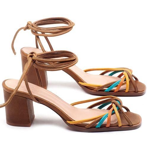 Laranja_Lima_Shoes_Sapatos_Femininos_Sandalia_Laranja_Lima_Shoes_Classic_Salto_de_6_cm_em_Couro_Multicolor_-_Codigo_-_3702_1