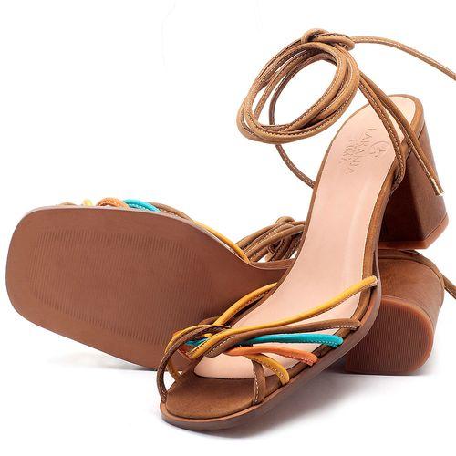 Laranja_Lima_Shoes_Sapatos_Femininos_Sandalia_Laranja_Lima_Shoes_Classic_Salto_de_6_cm_em_Couro_Multicolor_-_Codigo_-_3702_2