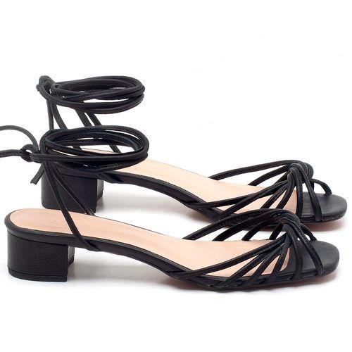 Laranja_Lima_Shoes_Sapatos_Femininos_Sandalia_Laranja_Lima_Shoes_Classic_Salto_de_6_cm_em_Couro_Preto_-_Codigo_-_3703_1
