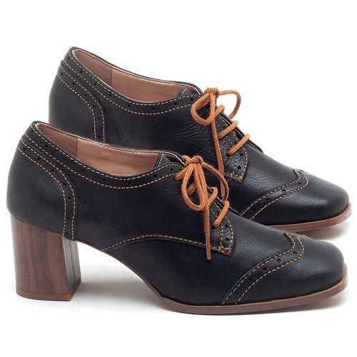 Laranja_Lima_Shoes_Sapatos_Femininos_Oxford_Laranja_Lima_Shoes_Salto_de_6_cm_em_Couro_Preto_-_Codigo_-_3704_1