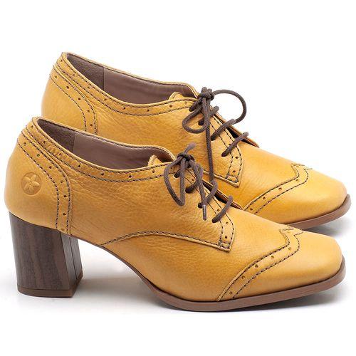 Laranja_Lima_Shoes_Sapatos_Femininos_Oxford_Laranja_Lima_Shoes_Salto_de_6_cm_em_Couro_Amarelo_-_Codigo_-_3704_1