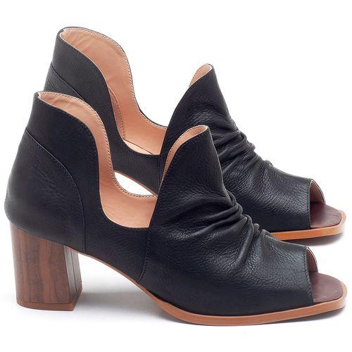 Laranja_Lima_Shoes_Sapatos_Femininos_Sandalia_Laranja_Lima_Shoes_Classic_Salto_de_6_cm_em_Couro_Preto_-_Codigo_-_3705_1
