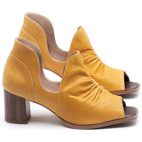 Laranja_Lima_Shoes_Sapatos_Femininos_Sandalia_Laranja_Lima_Shoes_Classic_Salto_de_6_cm_em_Couro_Amarelo_-_Codigo_-_3705_1