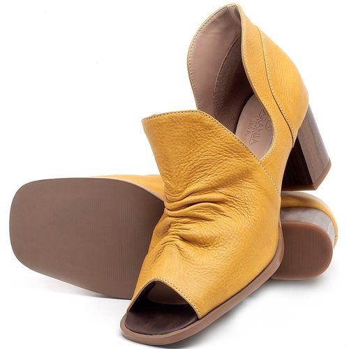 Laranja_Lima_Shoes_Sapatos_Femininos_Sandalia_Laranja_Lima_Shoes_Classic_Salto_de_6_cm_em_Couro_Amarelo_-_Codigo_-_3705_2
