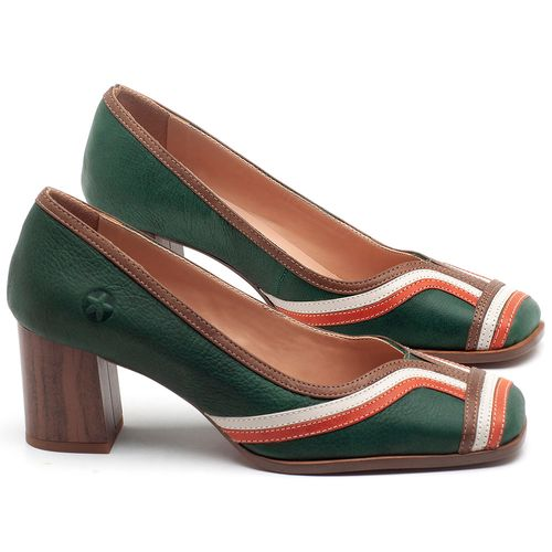Laranja_Lima_Shoes_Sapatos_Femininos_Scarpin_Salto_Medio_de_5_cm_em_Couro_Multicolor_-_Codigo_-_3708_1