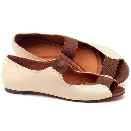 Laranja_Lima_Shoes_Sapatos_Femininos_Sapatilha_Peep_Toe_em_Couro_Bicolor_-_Codigo_-_56030_1
