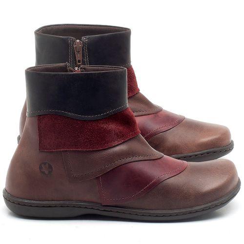 Laranja_Lima_Shoes_Sapatos_Femininos_Bota_Cano_Curto_em_Couro_Multicolor_-_Codigo_-_56076_1