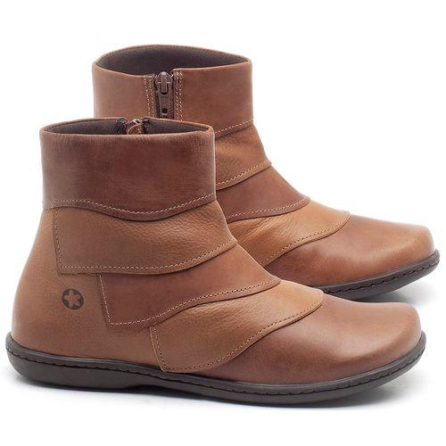 Laranja_Lima_Shoes_Sapatos_Femininos_Bota_Cano_Curto_em_Couro_Bicolor_-_Codigo_-_56076_1