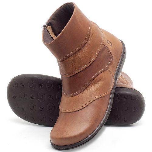 Laranja_Lima_Shoes_Sapatos_Femininos_Bota_Cano_Curto_em_Couro_Bicolor_-_Codigo_-_56076_2