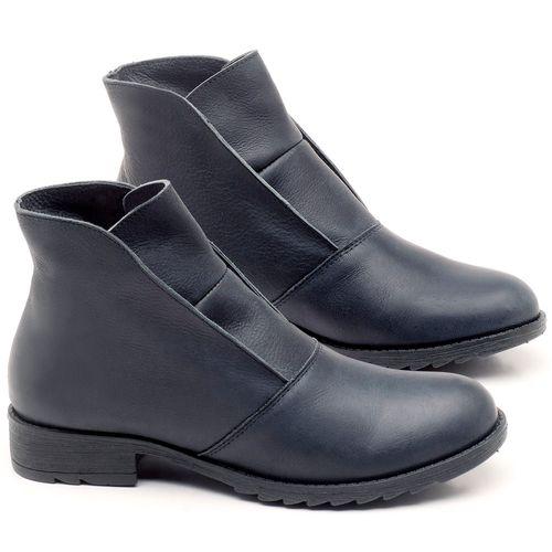 Laranja_Lima_Shoes_Sapatos_Femininos_Bota_Cano_Curto_em_Couro_Azul_-_Codigo_-_56077_1