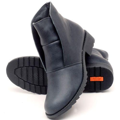 Laranja_Lima_Shoes_Sapatos_Femininos_Bota_Cano_Curto_em_Couro_Azul_-_Codigo_-_56077_2