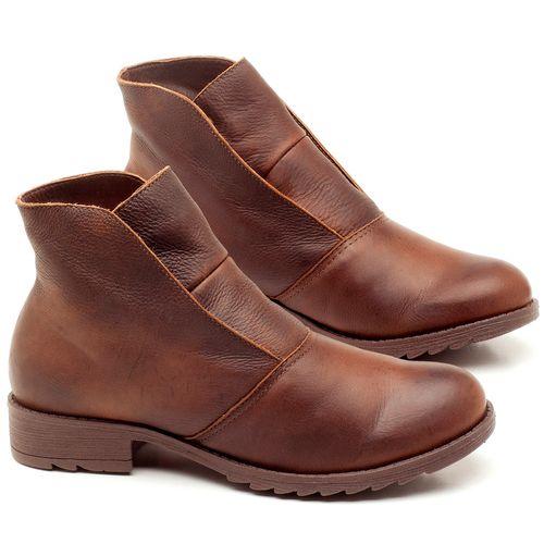 Laranja_Lima_Shoes_Sapatos_Femininos_Bota_Cano_Curto_em_Couro_Marrom_-_Codigo_-_56077_1
