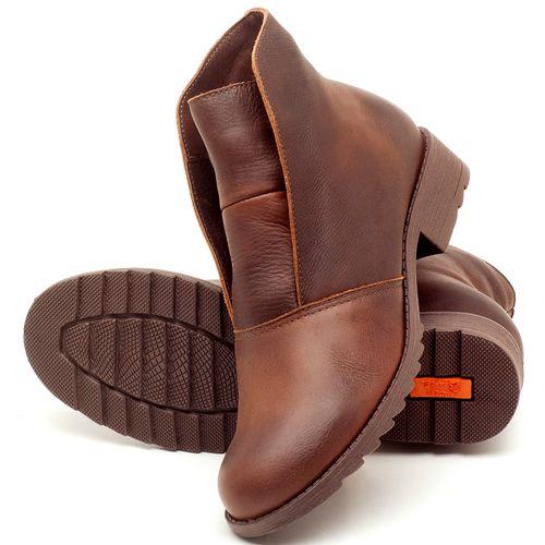 Laranja_Lima_Shoes_Sapatos_Femininos_Bota_Cano_Curto_em_Couro_Marrom_-_Codigo_-_56077_2