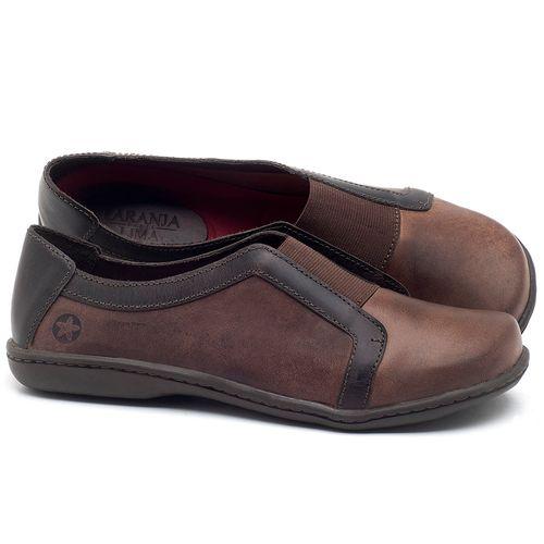 Laranja_Lima_Shoes_Sapatos_Femininos_Tenis_Cano_Baixo_em_Couro_Marrom_-_Codigo_-_56087_1