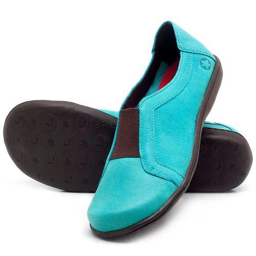 Laranja_Lima_Shoes_Sapatos_Femininos_Tenis_Cano_Baixo_em_Couro_Azul_-_Codigo_-_56087_2