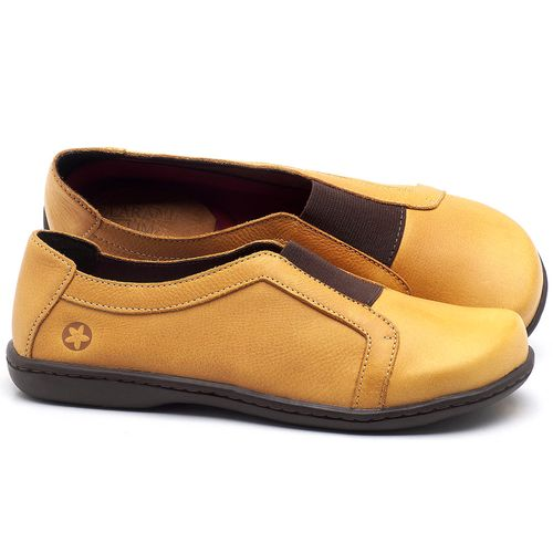 Laranja_Lima_Shoes_Sapatos_Femininos_Tenis_Cano_Baixo_em_Couro_Amarelo_-_Codigo_-_56087_1