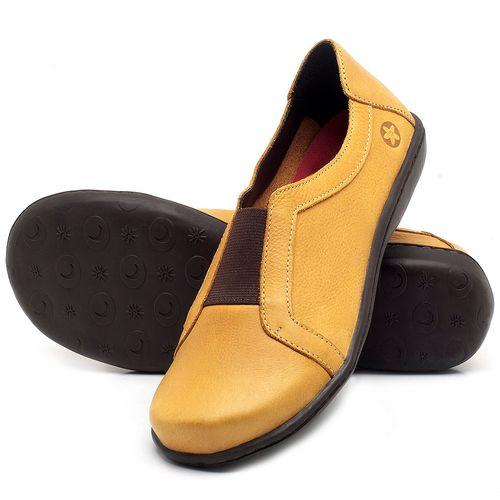 Laranja_Lima_Shoes_Sapatos_Femininos_Tenis_Cano_Baixo_em_Couro_Amarelo_-_Codigo_-_56087_2