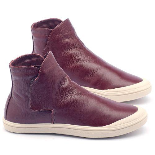 Laranja_Lima_Shoes_Sapatos_Femininos_Tenis_Cano_Alto_em_Couro_Vinho_-_Codigo_-_56092_1
