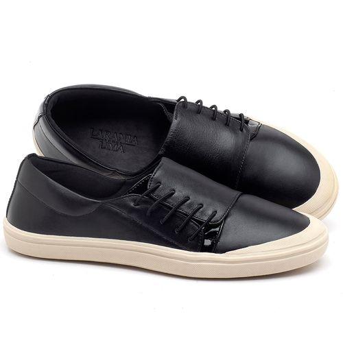 Laranja_Lima_Shoes_Sapatos_Femininos_Tenis_Cano_Baixo_em_Couro_Preto_-_Codigo_-_56095_1
