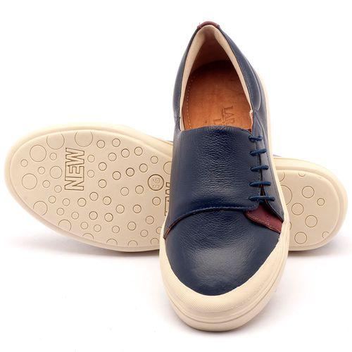 Laranja_Lima_Shoes_Sapatos_Femininos_Tenis_Cano_Baixo_em_Couro_Azul_-_Codigo_-_56095_2
