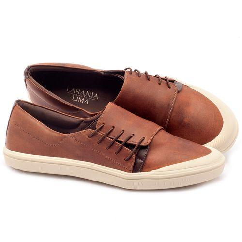 Laranja_Lima_Shoes_Sapatos_Femininos_Tenis_Cano_Baixo_em_Couro_Caramelo_-_Codigo_-_56095_1