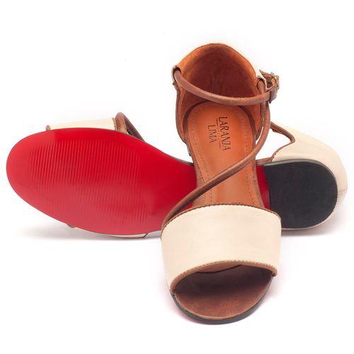 Laranja_Lima_Shoes_Sapatos_Femininos_Sandalia_Rasteira_em_Couro_Off-White_-_Codigo_-_56114_2