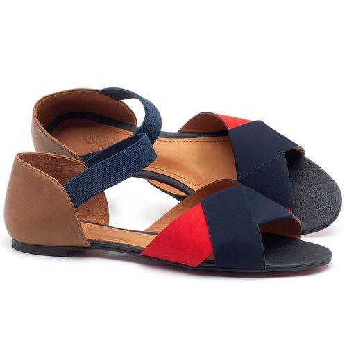 Laranja_Lima_Shoes_Sapatos_Femininos_Sandalia_Rasteira_Flat_em_Couro_Multicolor_-_Codigo_-_56122_1
