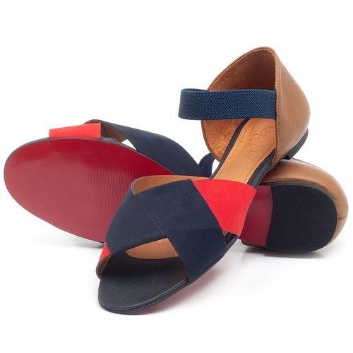Laranja_Lima_Shoes_Sapatos_Femininos_Sandalia_Rasteira_Flat_em_Couro_Multicolor_-_Codigo_-_56122_2