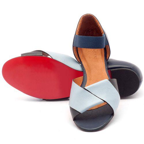 Laranja_Lima_Shoes_Sapatos_Femininos_Sandalia_Rasteira_Flat_em_Couro_Azul_-_Codigo_-_56122_2