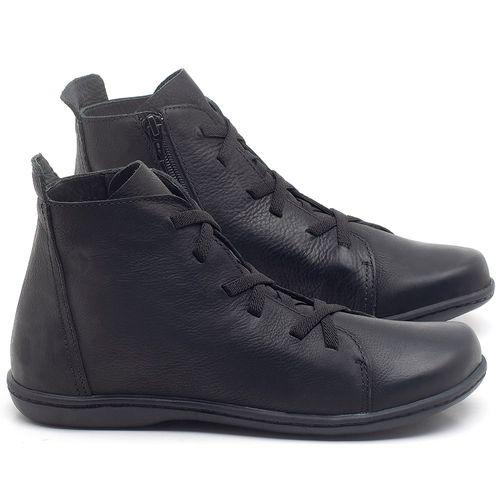 Laranja_Lima_Shoes_Sapatos_Femininos_Tenis_Cano_Alto_em_Couro_Preto_-_Codigo_-_56127_1
