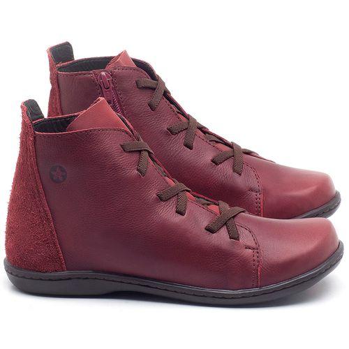 Laranja_Lima_Shoes_Sapatos_Femininos_Tenis_Cano_Alto_em_Couro_Vinho_-_Codigo_-_56127_1