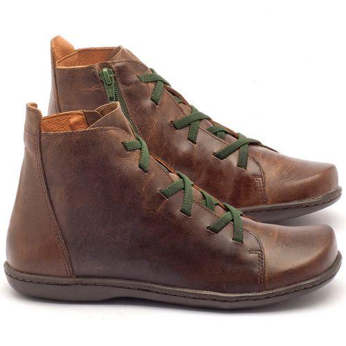 Laranja_Lima_Shoes_Sapatos_Femininos_Tenis_Cano_Alto_em_Couro_Marrom_-_Codigo_-_56127_1