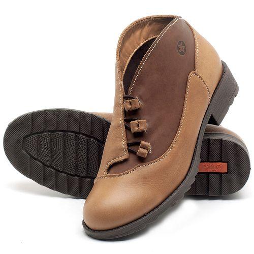 Laranja_Lima_Shoes_Sapatos_Femininos_Bota_Cano_Curto_em_Couro_Caramelo_-_Codigo_-_56130_2