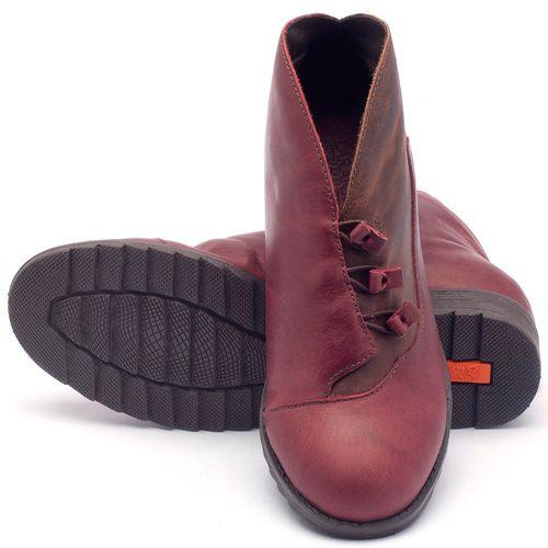 Laranja_Lima_Shoes_Sapatos_Femininos_Bota_Cano_Curto_em_Couro_Vinho_-_Codigo_-_56130_2