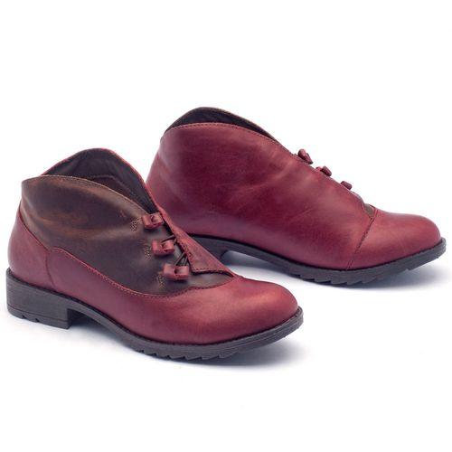 Laranja_Lima_Shoes_Sapatos_Femininos_Bota_Cano_Curto_em_Couro_Vinho_-_Codigo_-_56130_3