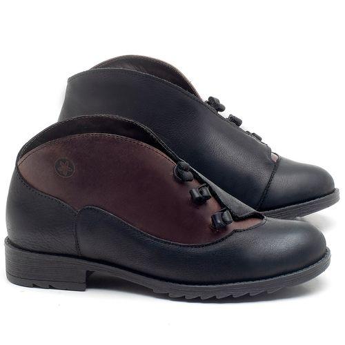Laranja_Lima_Shoes_Sapatos_Femininos_Bota_Cano_Curto_em_Couro_Preto_-_Codigo_-_56130_1