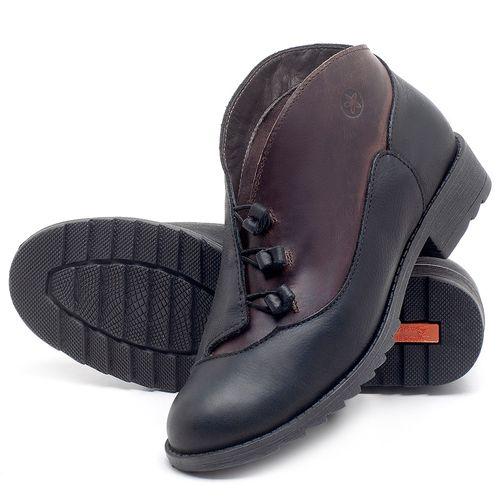 Laranja_Lima_Shoes_Sapatos_Femininos_Bota_Cano_Curto_em_Couro_Preto_-_Codigo_-_56130_2
