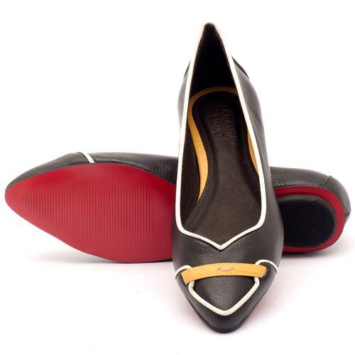 Laranja_Lima_Shoes_Sapatos_Femininos_Sapatilha_Bico_Fino_em_Couro_Preto_-_Codigo_-_56144_2
