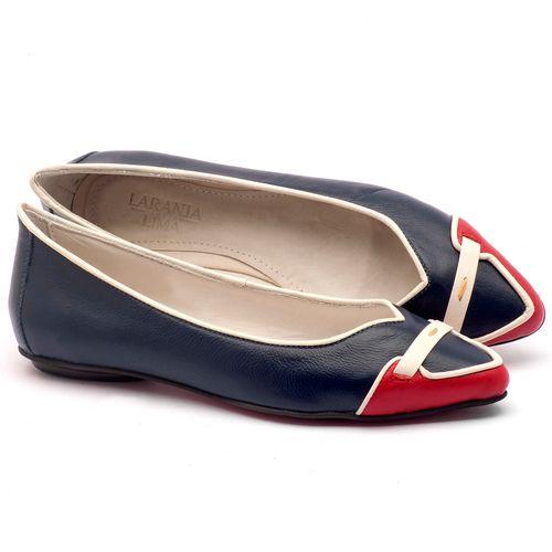 Laranja_Lima_Shoes_Sapatos_Femininos_Sapatilha_Bico_Fino_em_Couro_Azul_-_Codigo_-_56144_1