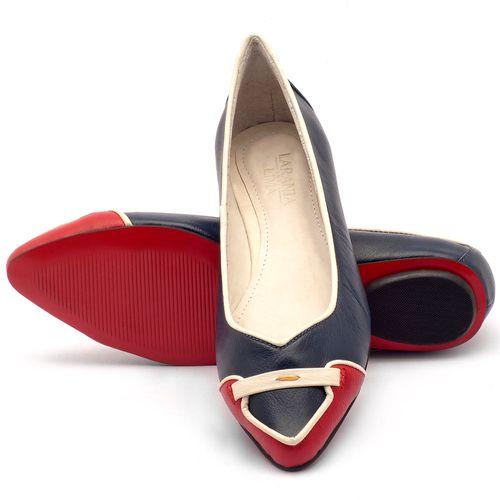 Laranja_Lima_Shoes_Sapatos_Femininos_Sapatilha_Bico_Fino_em_Couro_Azul_-_Codigo_-_56144_2