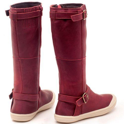 Laranja_Lima_Shoes_Sapatos_Femininos_Flat_Boot_em_Couro_Vinho_-_Codigo_-_56164_2