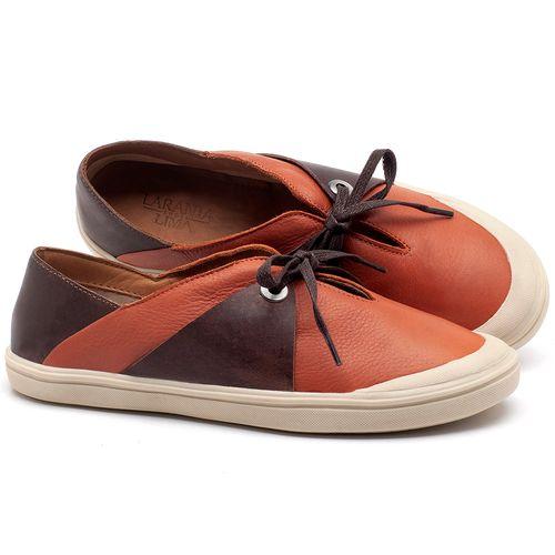 Laranja_Lima_Shoes_Sapatos_Femininos_Tenis_Cano_Baixo_em_Couro_Laranja_-_Codigo_-_56183_1