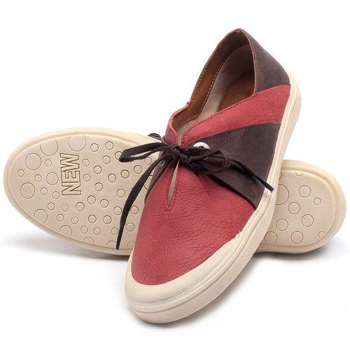 Laranja_Lima_Shoes_Sapatos_Femininos_Tenis_Cano_Baixo_em_Couro_Vermelho_-_Codigo_-_56183_2